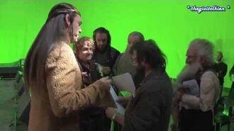 Vietsub Hậu trường The Hobbit Vua hài Elrond-1