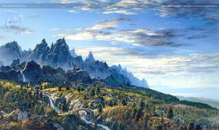 First Sight of Ithilien