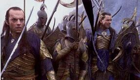 The Lord of the Rings - The Fellowship of the Ring - Elves in the Last Alliance