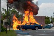 Jim Car Explodes