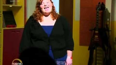 The Glee Project - All clips of Hannah singing