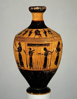 File:Vase Painting Greek Attic Amasis 550-530BC.jpg