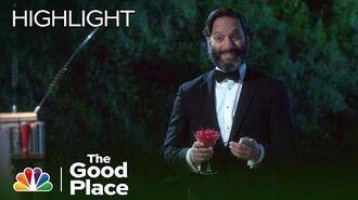 Jason Plunges Derek - The Good Place (Episode Highlight)