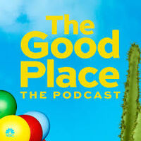 The Good Place the podcast logo