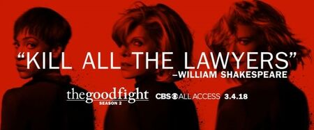 The Good Fight Season 2 Poster