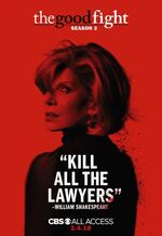 The Good Fight Season 2 Poster 1