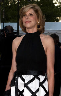 Christine Baranski at Met Opera cropped
