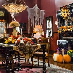 Decorated for Halloween