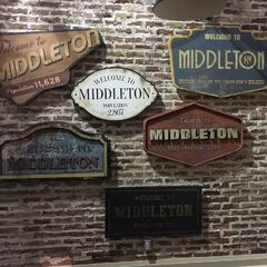Signs of Middleton