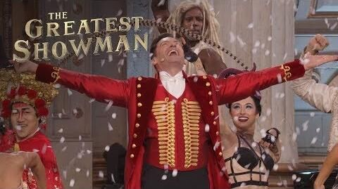 """The Greatest Showman """"Come Alive"""" Live Performance 20th Century FOX"""