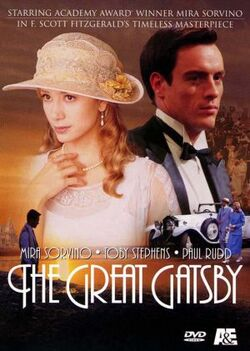 DVD cover of the movie The Great Gatsby