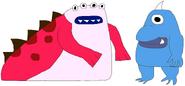 Random People as Tentacled Monsters 3