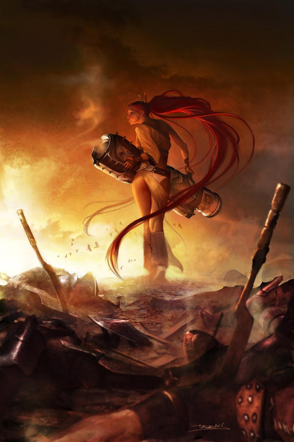 heavenly sword 2 concept art