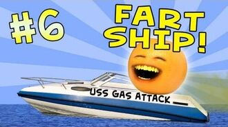 Annoying Orange - Ask Orange -6- Fart Ship!