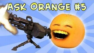 Annoying Orange - Ask Orange -5- Once in a Blew Moon!