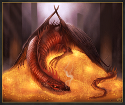 Smaug Drawing