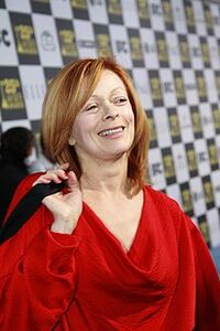 File-Frances Fisher at the 2010 Independent Spirit Awards