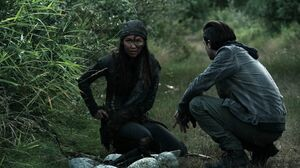 The100 S3 Wanheda Part 2 Emori Murphy 6