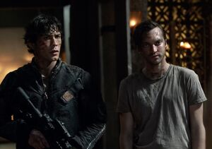 The100 S3 Perverse Instantiation 2 Bellamy Murphy