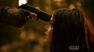 The 100 S6 epi 5 - Octavia has gun to her head