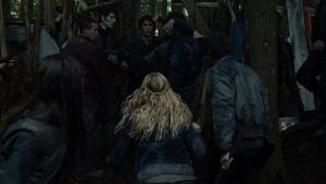 His Sister's Keeper 095 (Bellamy, Clarke, and Finn)