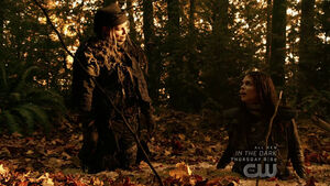 The 100 S6 epi 5 - Octavia & Diyoza