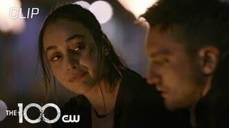 The 100 Season 7 Episode 13 Murphy And Raven Enter Bellamy's World Scene The CW