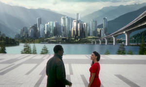 The-100-3x02 - Jaha & Alie