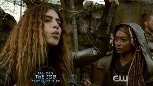 The 100 4x10 - Gaia & Luna