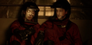 The 100 S4 episode 12- Murphy & Emori