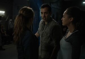 The100 S3 Wanheda Part 1Abby, Jackson & Raven