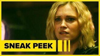 The 100 7x14 Sneak Peek Clarke Mourns Bellamy's Death and Gaia Returns