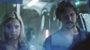 5x07 - Bellamy and Clarke 2