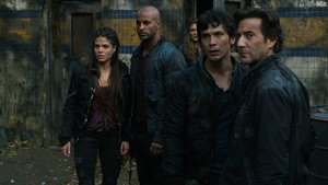 Remember Me 076 (Lincoln, Octavia, Bellamy, and Kane)