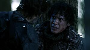 The100 S3 Wanheda Part 2 Kane Bellamy 3