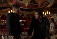 The 100 S6 episode 5 - Bellamy & Murphy
