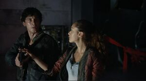 Raven and Bellamy s2