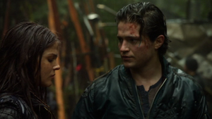 We Are Grounders (Part 1) 085 (Finn and Octavia)