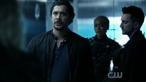 The 100 S6 epi 5 - Bellamy, Gaia and Murphy