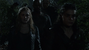 Resurrection 100 (Clarke and Octavia)
