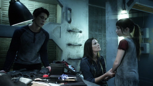 His Sister's Keeper 034 (Aurora, Bellamy, and Octavia)