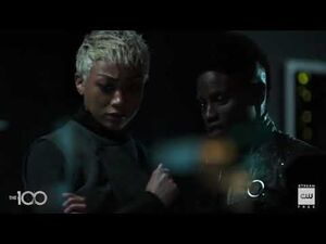 The 100 6x13 - Indra & Gaia