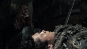 S3 epi 2 Wanheda (part 2) - Clarke pleads for Bellamy's life