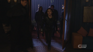 603 Madi reunites with Clarke and others