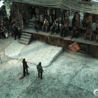Роан сражается за Азгеду