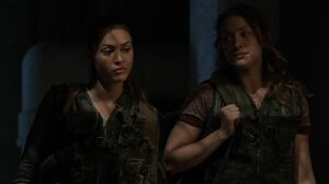 The100 S3 Ye Who Enter Here Raven Gina