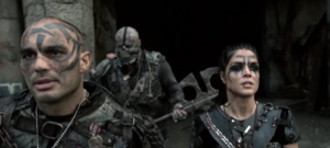 The-100-season-4-Die All, Die Merrily- pic 2- Octavia & Grounders