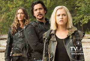 S601 first look - Clarke, Bellamy, Echo