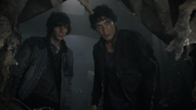 We Are Grounders (Part 1) 082 (Bellamy and Jasper)