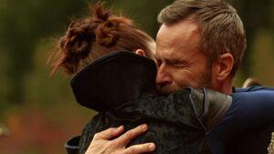Kaylee hugs Russell 6x04